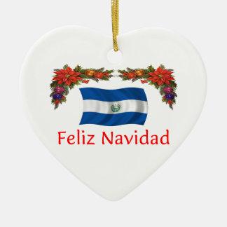 El Salvador Christmas Christmas Ornament
