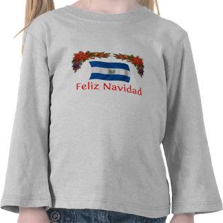 El Salvador Christmas T Shirt