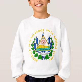 El Salvador Coat of Arms detail Sweatshirt