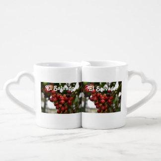 El Salvador Coffee Beans Coffee Mug Set