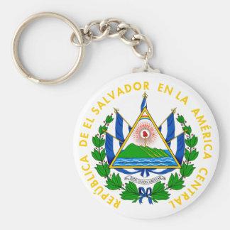 el salvador emblem key ring