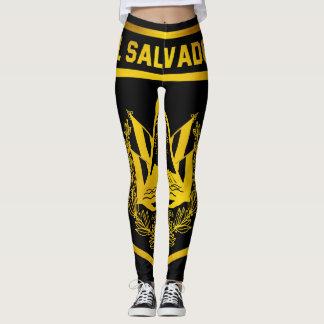 El Salvador Emblem Leggings