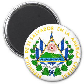 el salvador emblem magnet