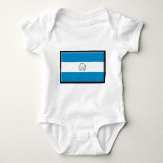 El Salvador Flag Baby Bodysuit