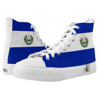 El Salvador Flag High Tops