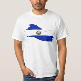 El Salvador Flag map SV T-Shirt