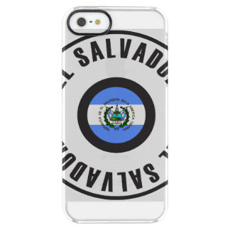 El Salvador Flag Simple Clear iPhone SE/5/5s Case