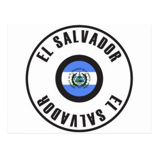 El Salvador Flag Simple Postcard