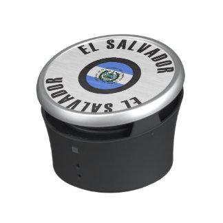 El Salvador Flag Simple Speaker
