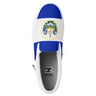El Salvador Flag Slip-On Shoes