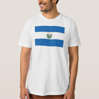 El Salvador Flag Tees