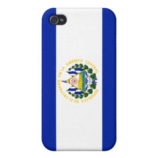 El Salvador National Nation Flag  iPhone 4 Cases
