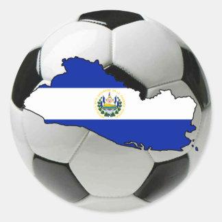 El Salvador national team Classic Round Sticker