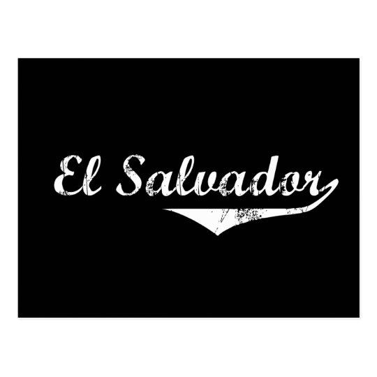 El Salvador Revolution Style Postcard