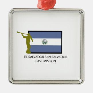 EL SALVADOR SAN SALVADOR EAST MISSION LDS CTR CHRISTMAS ORNAMENT
