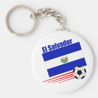 El Salvador Soccer Team Key Ring