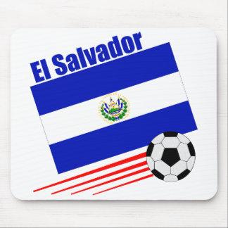 El Salvador Soccer Team Mouse Mat