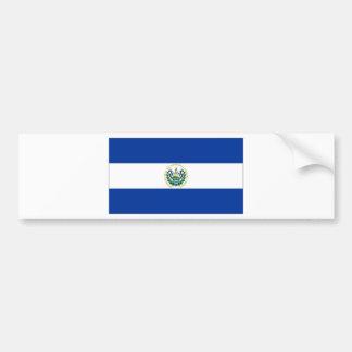 El Salvador State Flag Bumper Stickers