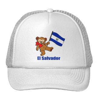 El Salvador Teddy Bear Hat