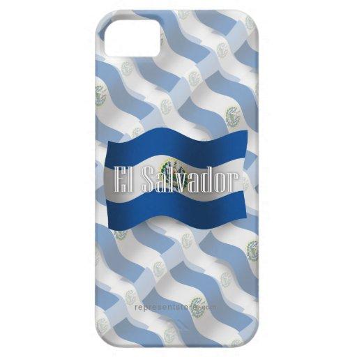 El Salvador Waving Flag iPhone 5 Covers