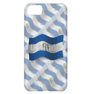 El Salvador Waving Flag iPhone 5C Cover