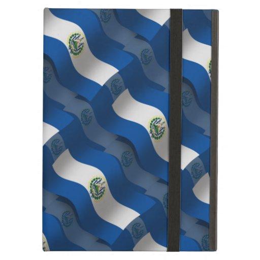 El Salvador Waving Flag iPad Case