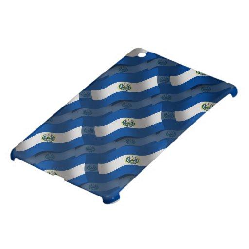 El Salvador Waving Flag iPad Mini Case