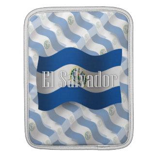 El Salvador Waving Flag iPad Sleeve