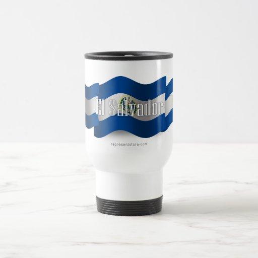 El Salvador Waving Flag Mug