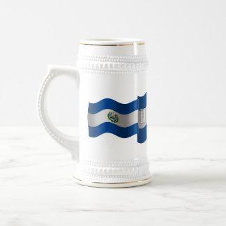 El Salvador Waving Flag Coffee Mug