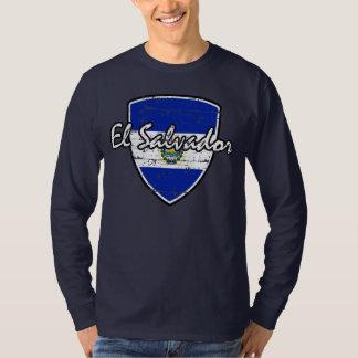 El Salvadorian flag shirt