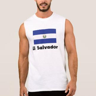 El Salvadorian Flag Sleeveless Shirts