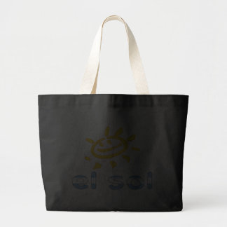 El Sol - The Sun in Argentine Summer Vacation Jumbo Tote Bag