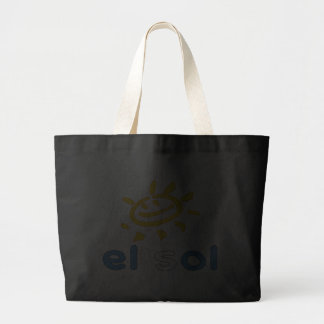 El Sol - The Sun in Guatemalan Summer Vacation Canvas Bags