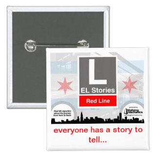 El Stories - Waltzing Mechanics 15 Cm Square Badge