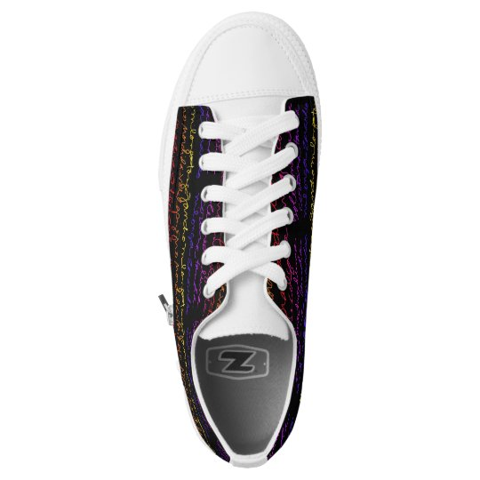 el tango low top black sneakers
