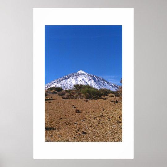 El Teide Poster