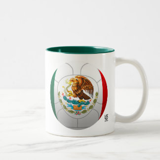 El Tri - Mexico Football Two-Tone Mug