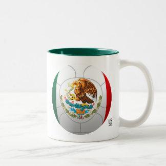 El Tri - Mexico Football Two-Tone Mug
