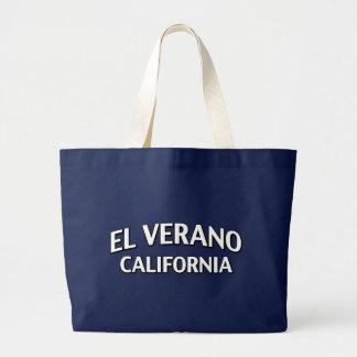 El Verano California Tote Bags