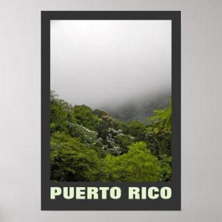 El Yunque, Puerto Rico Posters