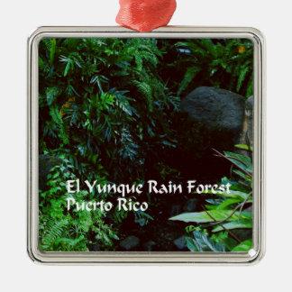 El Yunque Rain forest Christmas Ornament