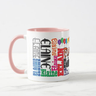 Elaine Coffee Mug