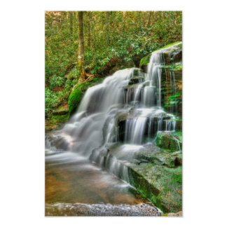 Elakala Falls #2, West Virginia Poster