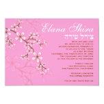 Elana Shira 2 Custom Personalised Invitation