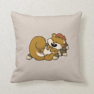 Elated Squirrel! Cushion