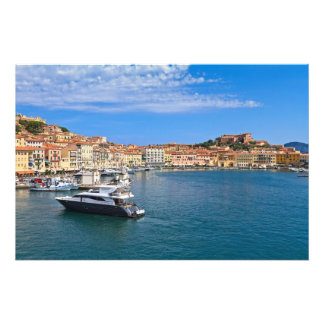 Elba island - Portoferraio Photo Print