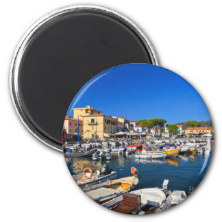 Elba - Marina di Campo Refrigerator Magnet
