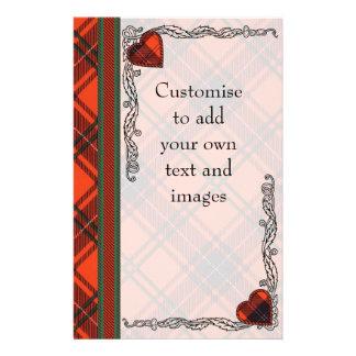 Elcho clan Plaid Scottish kilt tartan 14 Cm X 21.5 Cm Flyer