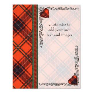 Elcho clan Plaid Scottish kilt tartan 11.5 Cm X 14 Cm Flyer